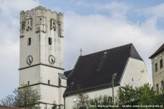 Die dem Hl. Johannes geweihte Kirche in Arbing dürfte aus der ehemaligen Burgkirche bzw. - kapelle entstanden sein.