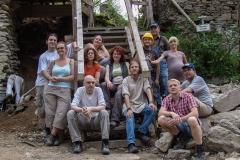 Mitglieder vom Erhaltungsverein Ruine Falkenstein
