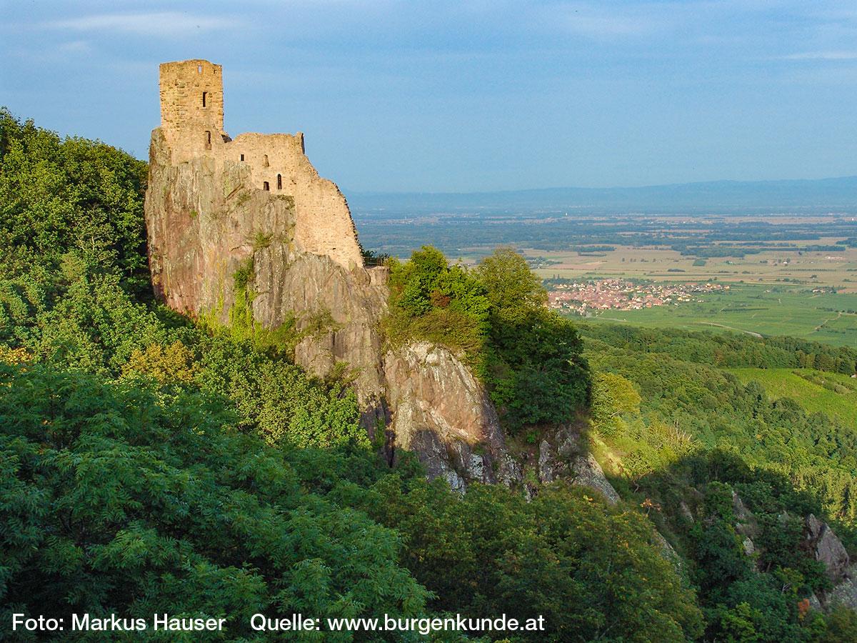 Burg Girsberg im Elsass