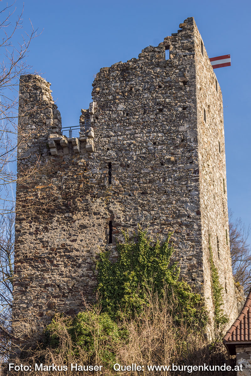 Turm der Ruine Haichenbach