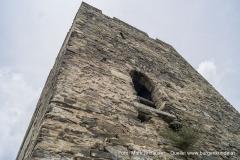 Der ursprüngliche Hocheinstieg des Turmes.