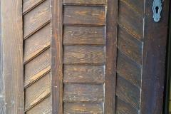 Eingangstüre vom Schloss Hochhaus.