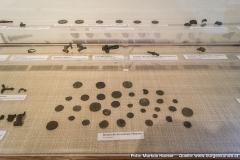 Unter andrem ist hier ein Römerschatz ausgestellt, gefunden in Vorchdorf.