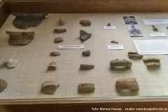 Am Burgstall Kögerl wurde auch die für einen Burgstall übliche Keramik gefunden.