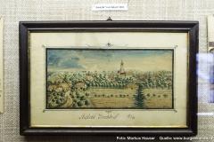 Historische Ansicht von Vorchdorf aus dem Jahre 1803.