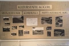 Historische Aufnahmen vom Burgstall Kögerl aus dem Heimatmuseum Vorchdorf im Schloss Hochhaus.