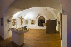 Das Heimatmuseum im Schloss Hochhaus in Vorchdorf. Im Bild der ehemalige Kapellenraum.
