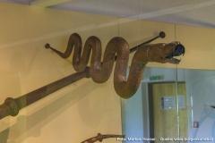 Die bedeutende Blechinstrumentesammlung mit Exponaten aus der ganzen Welt.