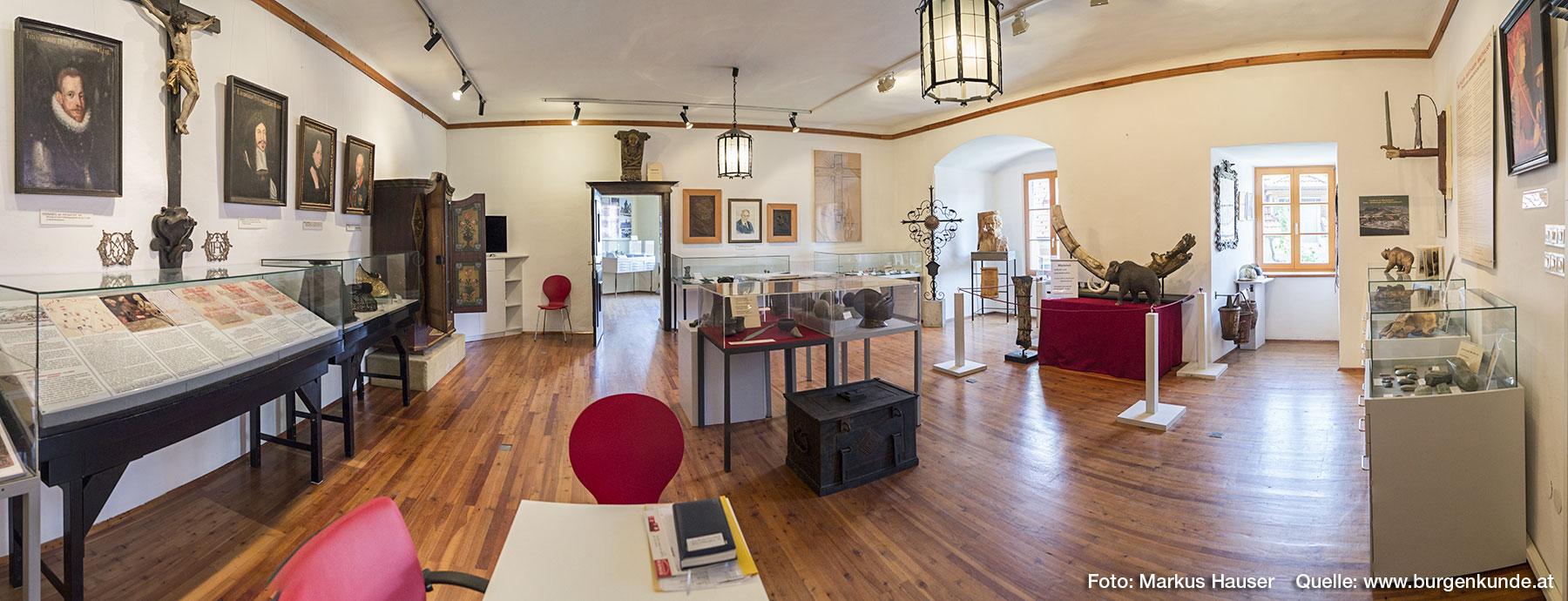 Das Heimatmuseum von Mauthausen befindet sich im ersten Stock.