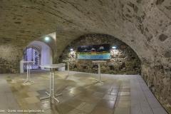 Der Ross-Stall, mit seinem tollen urigen Ambiente, wird heute für Veranstaltungen genutzt.