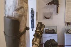 Gefunden wurde dieser Mammut-Zahn und der Schenkelknochen 1894 im Marktsteinbruch bei Mauthausen.