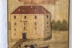 Ein altes Bild von Schloss Pragstein zeugt von einem Unglück zwischen dem Ufer und dem Schloss. Joseph Moser Schiffinhu (?) von Mauthausen 46 Jahr alt gab den 13ten August 1819 ?? 8 Uhr Abends in der Donau seinen Geist auf. Den 18ten des neymlichen Monathes wurde er aus derselben gefunden wird dann begraben. Reiche ihm o Herr! den ewigen Frieden. Johann Birngruber 26 Jahre alt, Zimermeister-Sohir von Mauthausen verunglückte am 8. Juni 1891 da er beim Baue der Badhütte in die Donau stürtzte und ertrank. Man bittet um einen Vaterunser. (sic)