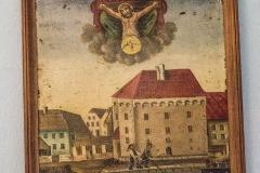 Ein weiteres Unglück ereignete sich als Pragstein bereits mit dem Ufer verbunden war: Johann Birngruber 26 Jahre alt, Zimermeister-Sohir von Mauthausen verunglückte am 8. Juni 1891 da er beim Baue der Badhütte in die Donau stürtzte und ertrank. Man bittet um einen Vaterunser. (sic)
