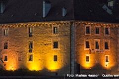Schloss Pragstein fügt sich wunderbar in das historische Ambiente und schöne Panorama von Mauthausen.