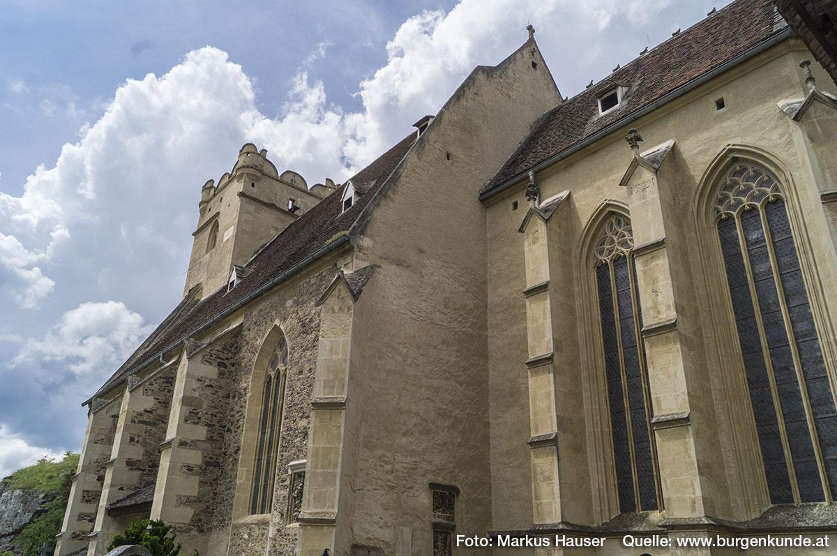 Die Wehrkirche hat sehr viele architektonische und künstlerische Besonderheiten, die es zu erkunden gilt.