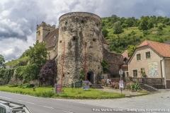 Nördlich der Wehrkirche St. Michael erhebt sich der Michaeler Berg, der von dieser seinen Namen erhielt.