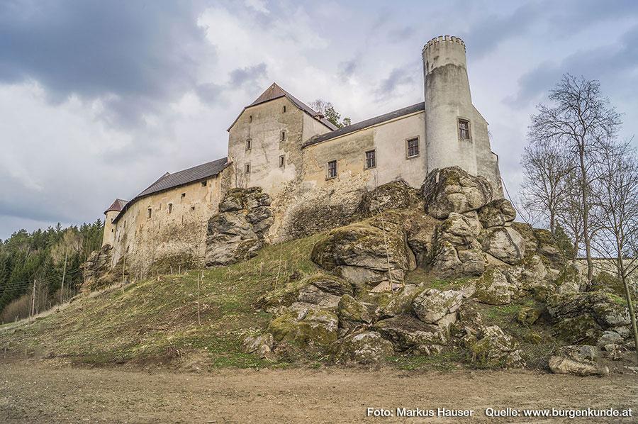 Schloss Waldenfels im oberen Mühlviertel