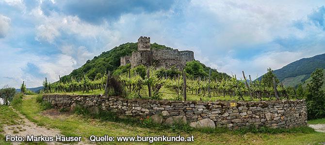 Ruine Hinterhaus in der Wachau