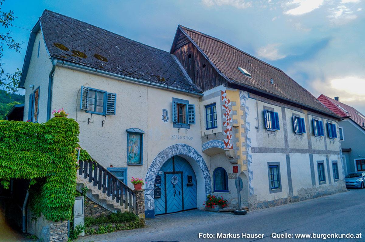 Subenhof in Rossatz/Wachau
