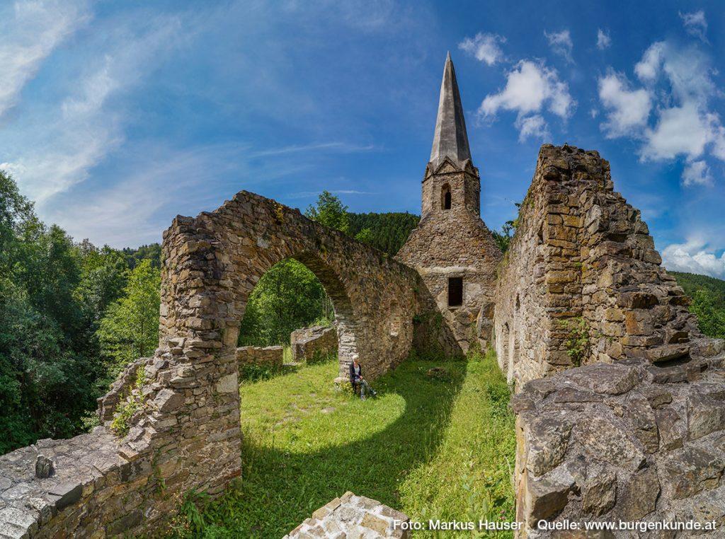 Burgkirche Gossam in der Wachau