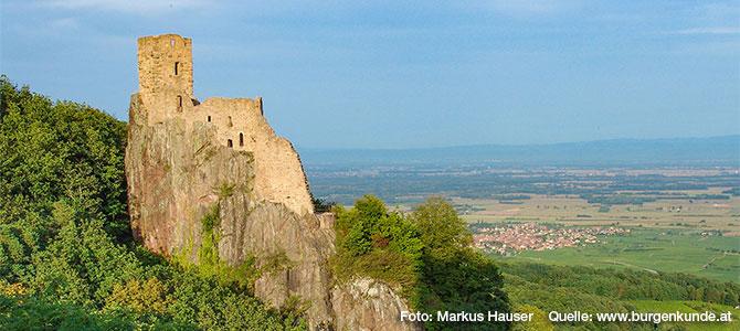 Burg Girsberg im Elsass (Frankreich)