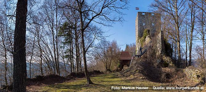 Ruine Haichenbach – das Kerschbaumer Schlössl Oö