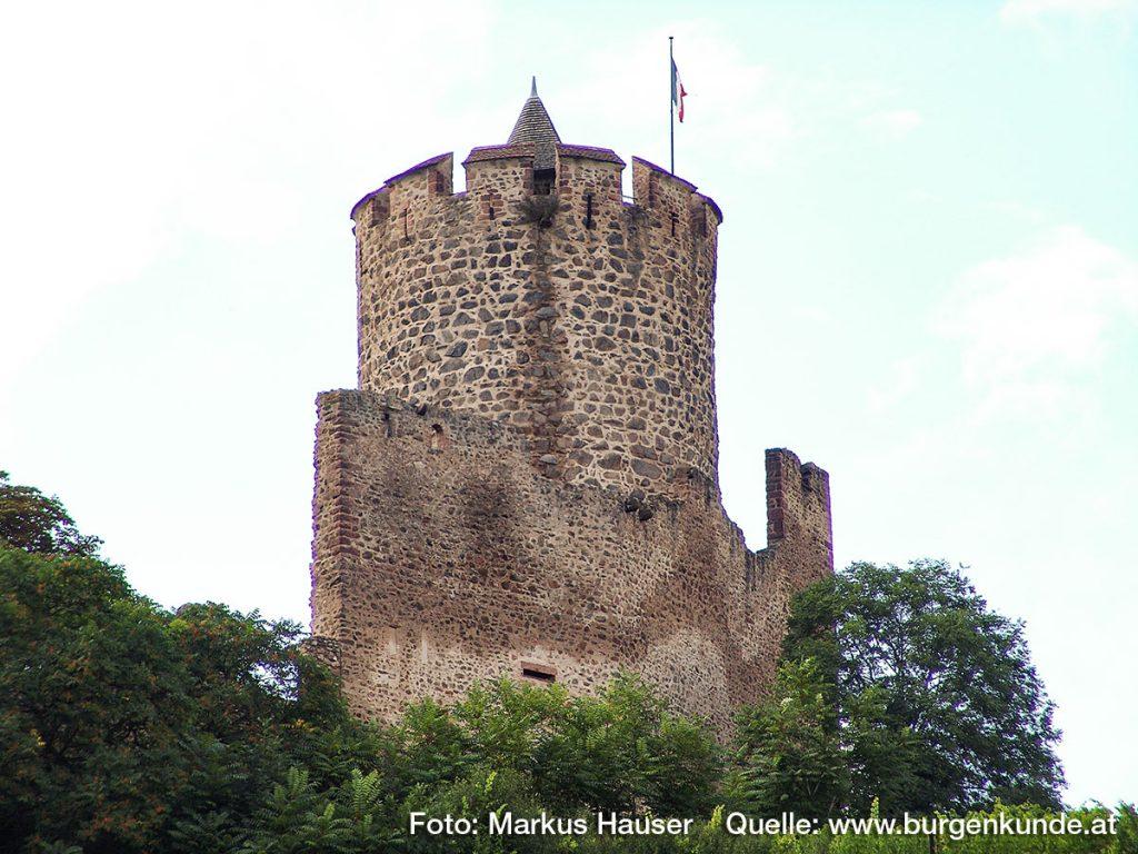 Burg Kaysersberg im Elsass