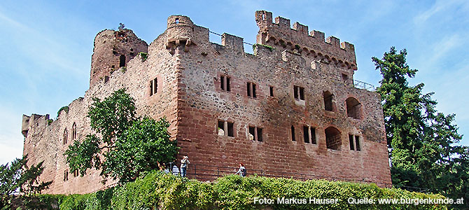 Burg Kintzheim im Elsass (Frankreich)