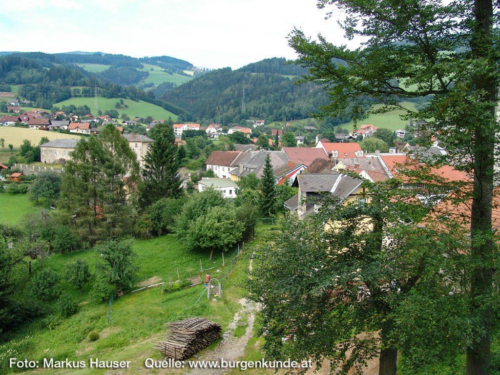 Burgruine Gomarn Bad St Leonhard Kärnten