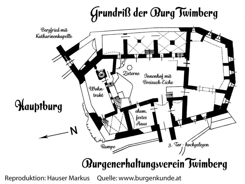 Burgruine Twimberg Bad St Leonhard Kärnten