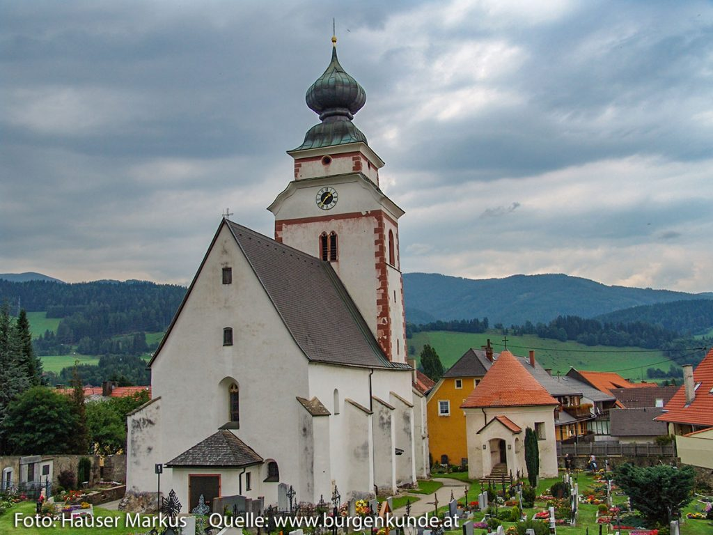 Pfarrkirche Reichenfels Bezirk Wolfsberg Kärnten